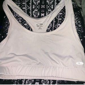 Champion white sports bra